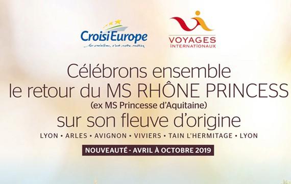 Célébrons ensemble le retour du MS Rhône Princess